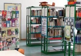 Schulbibliothek in der Georg-August-Zinn-Schule